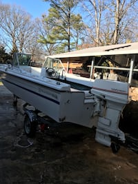 Tri hull boat with 50hp johnson outboard Fort Washington, 20744
