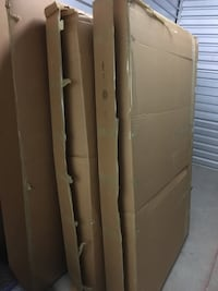 Full Size Bed, mattress and box spring Dunn Loring, 22027