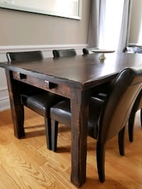 Solid Wood Dinning Set Whitchurch-Stouffville, L4A 0L3