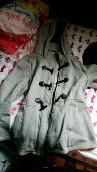 gray and black zip-up hoodie Burnaby, V5G 1A8