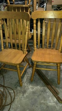 table with 6 matching chairs **PRICE REDUCED**