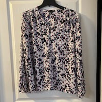 Banana Republic Chiffon Blouse Sz L