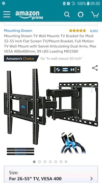 Mounting Dream TV wall mount MD2380