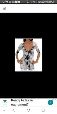 Woman New size small top Laval, H7M 4A2