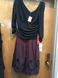 Burgundy and black cocktail dress new with tags  Memphis, 38018