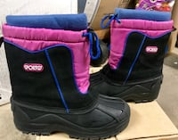 Black-and-pink sporto duck boots Henderson, 89014