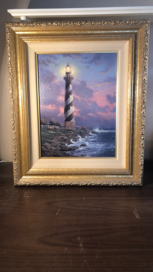 Thomas Kinkade Limited Edition Cape Hatteras Lighthouse