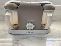 Béaba Double Babycook and food steamer cooker Mississauga