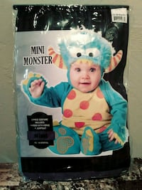 Mini Monster Infant Halloween Costume (12-18 mos) Sutton, 01590