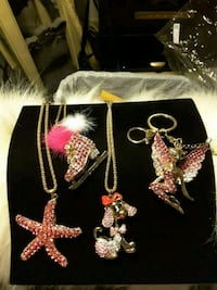 Necklaces by BetseyJohnson 8$ each