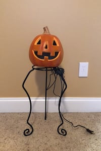 Halloween electric pumpkin