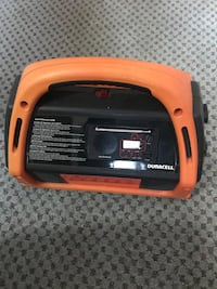 Duracell power pack 600 charger with radio