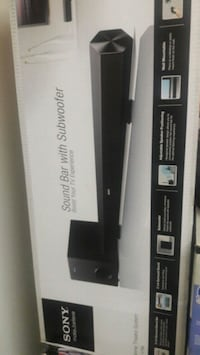 Sony ct60 sound bar. in box.  Mississauga, L5A 3X2