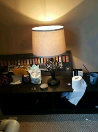 brown and white ceramic table lamp Edmonton, T5L 1A8
