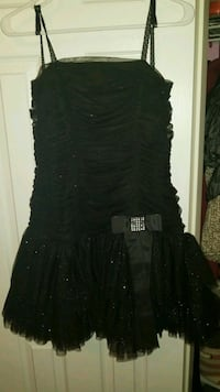 Strapless black glitter dress Whitchurch-Stouffville, L4A 1M4