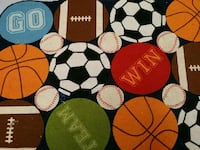Boys sports rug Plainfield, 06354