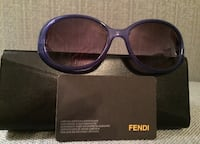 Blue framed authentic Fendi sunglasses with case 791 km