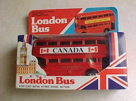 Diecast London Bus Free Wheel Action New In Package