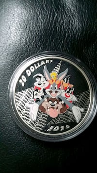 Pure Silver Looney Tunes Coin