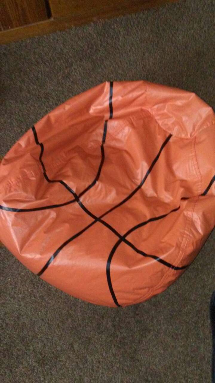 red basketball bean bag chair & Used red basketball bean bag chair for sale in Akron - letgo