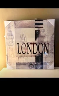Brand New London Canvas Picture