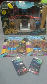 assorted plastic toy collection in packs Blackfalds