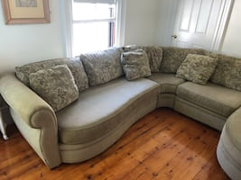 Sectional is great condition original 4,000.00