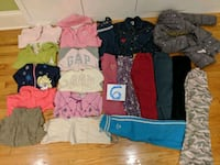 Girls clothes size 6t