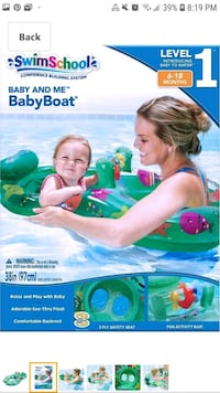mommy and baby floater