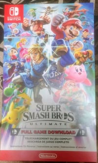 Super Smash Bros (Switch) Brampton, L6X 5B1