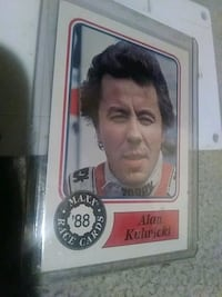 Racing card 1988 Knoxville, 37918