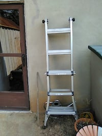gray aluminum adjustable ladder Roanoke, 24017