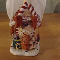 Ceramic tealight gingerbread house Oshawa, L1K 2T5