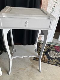 white wooden single-drawer end table Agoura Hills, 91301