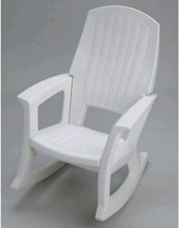 White Rubbermaid adult rocking chair Yarmouth, 02664
