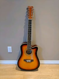 brown and black classical guitar Burnaby, V5C