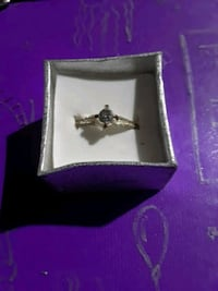 Platuim and Gold engagement ring Dallas, 30157