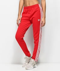 NEW WT 2 PAIRS WOMENS ADIDAS SST TRACK PANTS