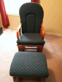 Like New Rocking Chair and Ottoman!
