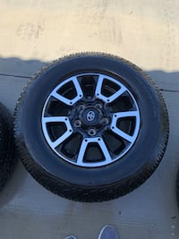 Tundra TRD wheels and tires Bakersfield