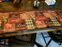 5 valances and 12 placemats Hagerstown, 21740