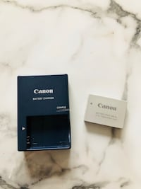 Canon camera battery and charger New York, 10036