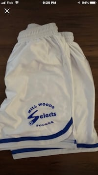 Millwoods selects soccer girls size small shorts Edmonton, T6L 6X6