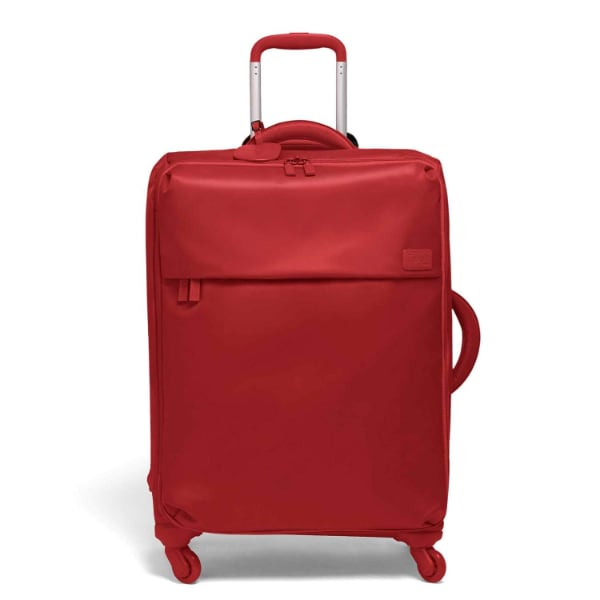 Lipault Luggage Cherry Red Spinner Soft Sided