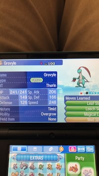 Shiny Grovyle, Combusken, And Marshtomp Springville, 84663