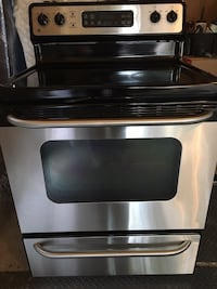 Stainless steel induction range oven null, K0A 1A0