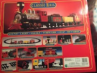 Classic Rail train toy scale model. This was made in the early 1990s. New inbox.