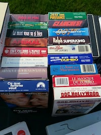 assorted movie cases Granby, J2H 0K2