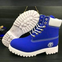 Blue timberlands