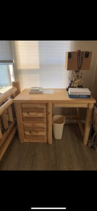 Amish built desk new condition was used for decoration.  Columbus, 43201